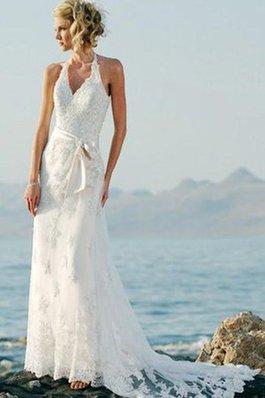 Abito da Sposa Anello Formale E Informale a Riva in Pizzo Elegante